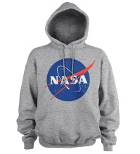 NASA Insignia / Logotype Hoodie (H. Grey)