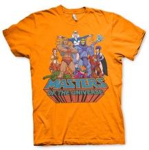 Masters Of The Universe Unisex T-Shirt (Orange)