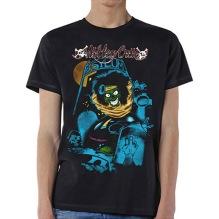 Mötley Crue: Feelgood Graveyard Vintage Unisex T-shirt - black