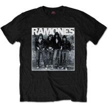 Ramones: 1st Album Unisex T-shirt - black