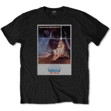STAR WARS: Old School Japanese Unisex T-shirt (black)