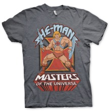 Masters Of The Universe - He-Man Unisex T-Shirt (Dark Heather)