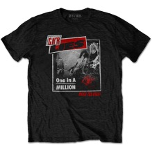 Guns N' Roses: One In A Million Unisex T-shirt - black