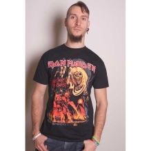 Iron Maiden: The Number Of The Beast Graphic Unisex T-Shirt (black)