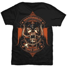 MOTÖRHEAD: Orange Ace Unisex T-shirt - black