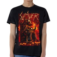 SLAYER: Goat Skull Unisex T-shirt - black