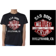 Mötley Crue: Bad Boys Shield Unisex T-shirt - black