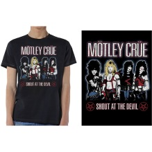 Mötley Crue: Shout at the Devil Unisex T-shirt - black (M, XXL)