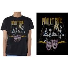 Mötley Crue: Theatre Vintage Unisex T-shirt - black