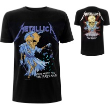 METALLICA: Doris (Back Print) Unisex T-shirt (black)