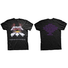 METALLICA: Master of Puppets (Back Print) Unisex T-shirt (black)