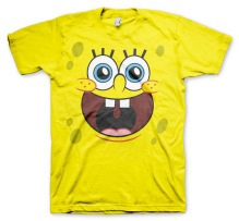 SpongeBob Squarepants - Happy Face T-Shirt (yellow)