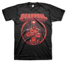 DEADPOOL Pose Unisex T-Shirt (black)