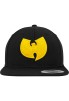 Wu-Wear: Wu-Tang Clan Logo Cap - black/yellow