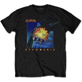 Def Leppard: Pyromania Unisex T-shirt - black