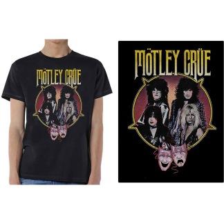 Mötley Crue: Theatre Pentagram Unisex T-shirt - black