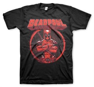 DEADPOOL Pose Unisex T-Shirt (black)