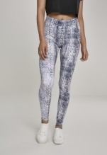URBAN CLASSICS Ladies Pattern Leggings - snake