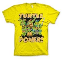 TEENAGE MUTANT NINJA TURTLES: Turtle Power! Unisex T-Shirt (Yellow)