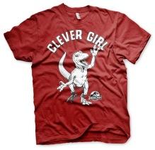JURASSIC PARK: Clever Girl Unisex T-Shirt (Tango Red)