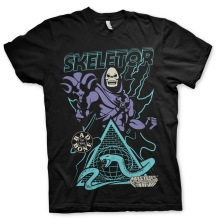 Masters Of The Universe / Skeletor - Bad To The Bone T-Shirt (Black)