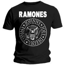 Ramones: Presidential Seal Unisex T-shirt - black