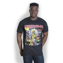 Iron Maiden: Killers Cover Unisex T-shirt (black)