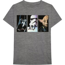 STAR WARS:  Tri VHS Art Unisex T-shirt (H.Grey)