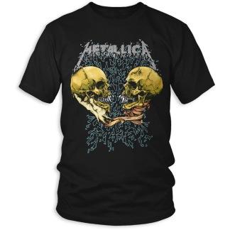 METALLICA: Sad But True (Back Print) Unisex T-shirt (black)