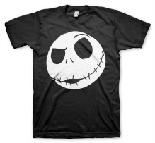 Tim Burton's The Nightmare Before Christmas: Jack Skellington T-Shirt (black)