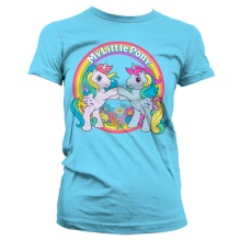 MY LITTLE PONY - Best Friends Girly Tee (skyblue)
