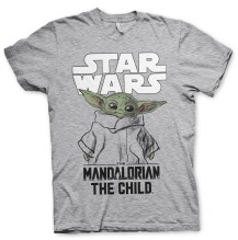 STAR WARS - Mandalorian Child Unisex T-Shirt (h.grey)