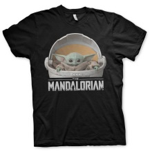 STAR WARS - The Mandalorian Baby Yoda Crib Unisex T-Shirt (black)