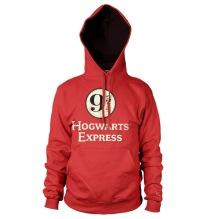 HARRY POTTER - Hogwarts Express Platform 9-3/4 Hoodie (Red)