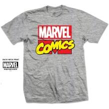 MARVEL Comics Unisex T-shirt (h.grey)