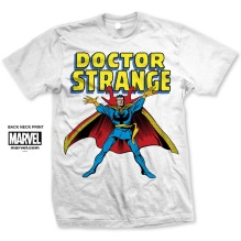 MARVEL: Doctor Strange Unisex T-shirt (white)