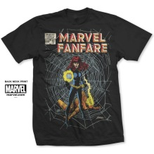 MARVEL: Marvel Fanfare Unisex T-shirt (black)