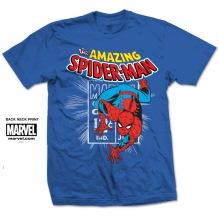 MARVEL: Spidey Stamp Unisex T-shirt (blue)