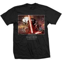 STAR WARS: Episode VII Collection Unisex T-shirt (black) (S)