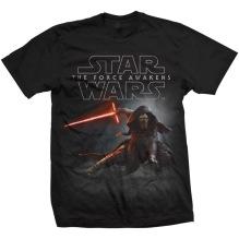 STAR WARS: Episode VII Kylo Ren Crouch Unisex T-shirt (black) (S)
