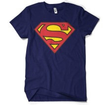 Superman Shield T-Shirt (Navy)