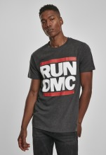 Run DMC Logo Unisex T-shirt (charcoal) (S)