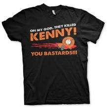 SOUTH PARK: They Killed Kenny Unisex T-Shirt (black)