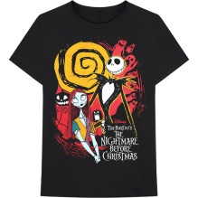 Tim Burton's The Nightmare Before Christmas Ghosts T-Shirt (black)
