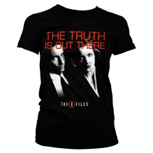 The X-Files - The Truth Is Out There Girly Tee (black)