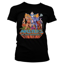 Masters Of The Universe Girly Tee (black)