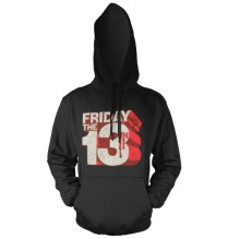 Friday The 13th - Block Logo Hoodie (Black)