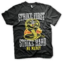 KARATE KID: Strike First, Strike Hard - Cobra Kai No Mercy Unisex T-Shirt (black)