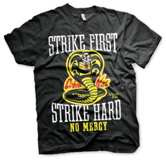 KARATE KID: Strike First, Strike Hard - Cobra Kai No Mercy Unisex T-Shirt (black)