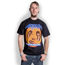 ANTHRAX: State Of Euphoria Unisex T-shirt (black)